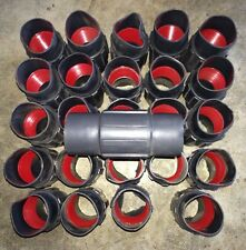 """Robroy Plasti-Bond  PRCPLG 1 1/2"""" Red Hot Coupling (Lot of 50) New"""