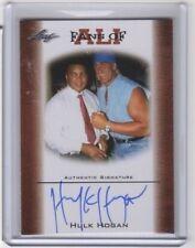2010 LEAF FANS OF ALI HULK HOGAN AUTOGRAPH CARD # FAU-2 ONE OF WWE GREATEST