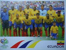 Panini 74 Team Ecuador FIFA WM 2006 Germany