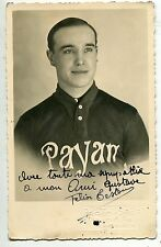CARTE POSTALE   PHOTO VELO CYCLISTE FELIX EESTOU  DEDICACE