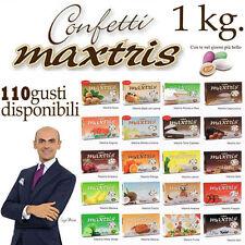 Confetti MAXTRIS 1 Kg.SCEGLI TRA 110 GUSTI per confettata e bomboniere fai da te