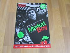MARKET Boy Set to Soundtrack 80's Classic Hits Original NATIONAL Theatre Poster