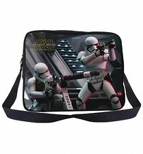 STAR WARS THE FORCE AWAKENS STORMTROOPER MESSENGER BAG LENTICULAR 3D BRAND NEW