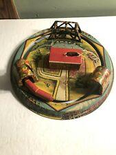 Louis Marx Honeymoon Express Tin Litho Train Wind-Up Toy Marx New York
