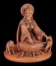 Keltische Göttin der Fruchtbarkeit - Cerridwen Figur Wicca Statue Altarfigur