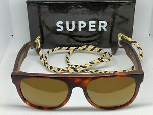 RetroSuperFuture 906 Flat Top The Admiral Frame Size 52mm Sunglasses New