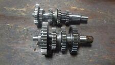 1978 HONDA XL75 XR80 XR XL 75 HM770 ENGINE TRANSMISSION GEAR SHAFT ASSEMBLY