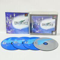 FINAL FANTASY VII 7 INTERNATIONAL Ultimate Hits PS1 Playstation ccc p1