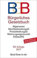 Bürgerliches Gesetzbuch (BGB) (2016, Taschenbuch)
