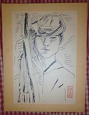 Vietnam Liberation War Art - A LIBERATION ARMY MAN - 1964 - Viet Cong - NLF - 43