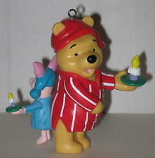 """Winnie the Pooh & Piglet """"Late Night Scare"""" Ornament Approx 4"""""""
