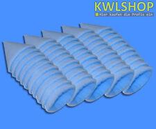 50 Filtre à cône G4 DN 125, 150mm long pour cuisines, Force env. 15-18mm