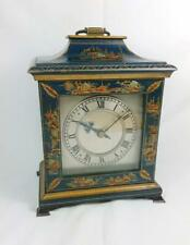LATE 19TH CENTURY ANTIQUE FRENCH 8 DAY CHINOISERIE MANTEL CLOCK