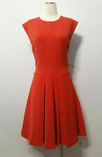 Tracy Reese New York Fit & Flare Pleated Dress Frock-No Necklace BNWT Sz 12