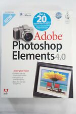 2006 Adobe Photoshop Elements 4.0 for Mac Brand NEW Sealed