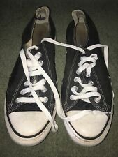 CONVERSE CT ALL STAR Black - UNISEX SNEAKERS - BLACK SIZE UK10