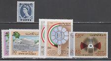 Kuwait Francobolli #128 528 Singolo + (3) Set come Nuovo/ Non Usato