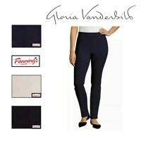 SALE! Gloria Vanderbilt Women's Zoey Pull on Straight Leg Jeans Pant VARIETY A34