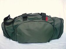 HUGO BOSS Weekender Duffle Gym Travel Bag Green with Black Trim