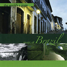 DAMAGED ARTWORK CD Various Artists: World's a Stage: Music of Brazil
