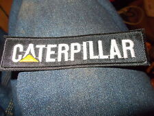 CATERPILLAR BLACK WHITE YELLOW JACKET HAT SHIRT TRACTOR TRACTORS PATCH NEW 5 INC