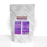 3KG WEIGHT GAINER LEAN MASS GAIN WHEY PROTEIN - HIGH CALORIE+ BCAAs
