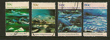 AUSTRALIAN ANTARCTIC TERRITORY :1989 Landscape Paintings SG 84-7 fine used
