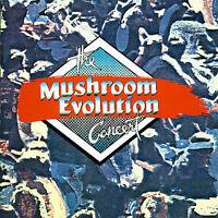 THE MUSHROOM EVOLUTION CONCERT 2CD NEW Meo 245 Dave Derros Jo Jo Zep Madder Lake