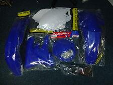 WR WRF 250 450 05-06 Plastic Kit Enduro Plastics Headlight Rear Blue Light