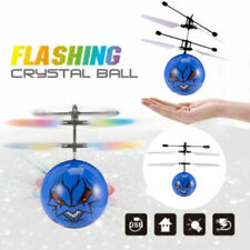 Electric LED Light Flying Ball Helicopter RC Sensor Drone UFO Flash Kids Toys US