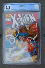 X-MEN #4*1st appearance of Omega Red*Story by Jim Lee & John Bryne*CGC GRADE 9.2