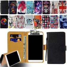 Leather Wallet Card Stand Flip Case Cover For Various NUU Mobile Phones
