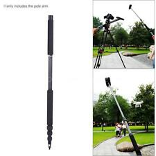 Carbon Fiber 4 Sections Telescoping Microphone Boom Pole Arm Extension Pole J4F8