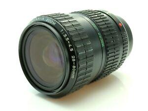Pentax A 28-80mm 3.5-4.5 Zoom Camera Lens Pentax KA Mount 6539967