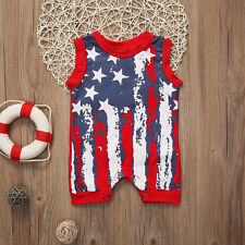 New Newborn Kids Baby Boys Girls Infant Romper Jumpsuit Bodysuit Clothes Outfit