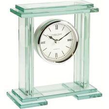 London Clock Co Moderno Vetro Quarzo Carrello/Orologio per Mensola Del Camino