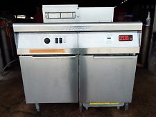 FRYMASTER FM1CFESC FRYER PROPANE WITH DUMP STATION AND FILTRATION SYSTEM