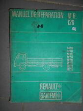 SAVIEM SG2 SG3 diesel essence : manuel d'atelier MR126 1966