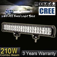 "20"" inch 210W CREE LED Light Bar Spot Flood Combo Off road Driving Work 12V 24V"