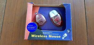 Souris sans fil WANADOO Translucide Rouge USB pour MAC / Win 95 98 2000 ME XP NT