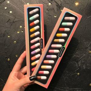 12 Colors Mini Capsule Lipstick Set Matte Lipstick Waterproof Lasting Make up