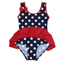 Girls Bathing Bikini Childrens Swimming Costume Swimsuit Tankini Baby Toddler