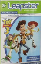 NEW LeapFrog Leapster Toy Story 3 Learning Cartridge Game Free Shipping !