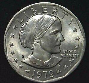 1979-S $1 Susan B Anthony Dollar BU 21ltt0516 70 Cents Shipping
