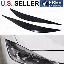 2012-2017 BMW Carbon Fiber Headlight Eyelids Eyebrows F32 M4 328i 435i 430i 440i