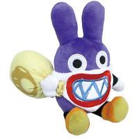 "Super Mario Bros Wii U Stuffed Plush Toy Doll by Sanei - 9"" Nabbit"