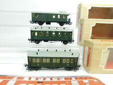 bj204-0,5 # 3x LILIPUT H0 / DC vagones / Vagón Portaequipajes: 27300+27302+27100