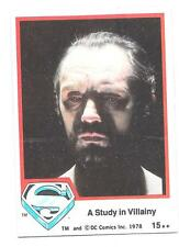 SUPERMAN The Movie trading cards 1978 Series 1 ~ Card #15 TOPPS