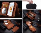 Luxury Leather Apple Zip Phone Wallet Case Cover For iPhone 7 6 6s Plus 4 5 SE