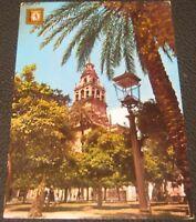 Spain Cordoba Patio de los Naranjas y Campanario de la Mexquita - posted